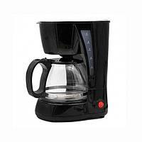 Кофеварка капельная Rainberg RB-606 c чайником 0.6 л 650W Black
