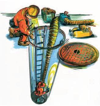 Вентилятор для продувки колодцев