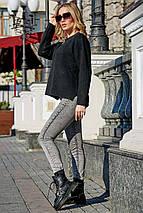 Теплый осенний свитер свободного кроя S-XXL  SEV-5618.3788, фото 2