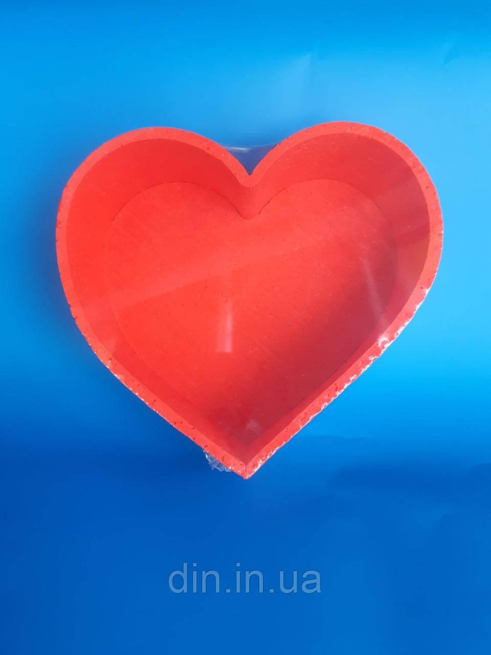 "Коробка ""Серце""(пофарбована)"
