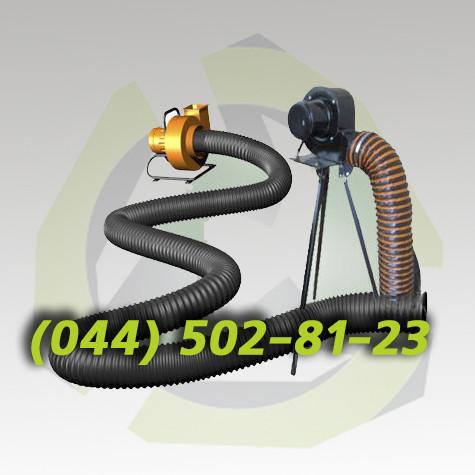 Переносной вентилятор ВСП-500 вентилятор для продувки колодцев  вентиляции местной