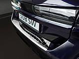 Захисна накладка на задній бампер для Peugeot 508 II SW 2018+ /нерж.сталь/, фото 2