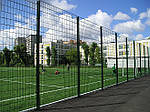 Из какого материала сделать забор для спортивной площадки