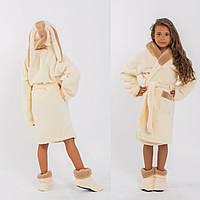 Детский махровый халат с сапожками, фото 1