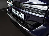Захисна накладка на задній бампер для Peugeot 508 II SW 2018+ /чорна нерж.сталь/, фото 5