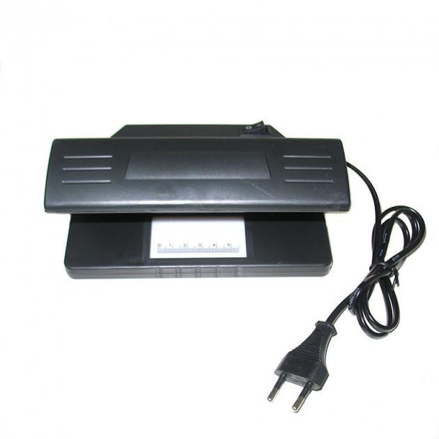 Ультрафіолетовий детектор валют 318 працює від мережі ультрафіолет детектор лампа для перевірки грошей