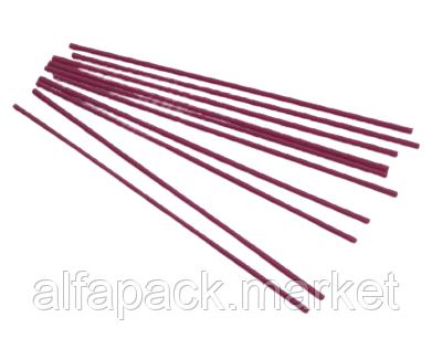 Трубочка Алкогольная 210мм/3мм розовая (500 шт в упаковке)