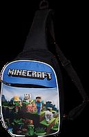 Детская сумка через плечо. Minecraft (Майнкрафт)