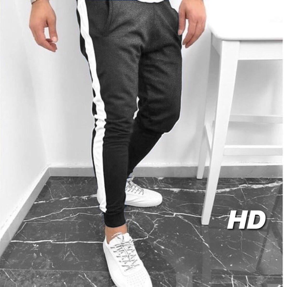 Мужские тёплые спортивные штаны на флисе