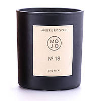 Ароматическая свеча Mojo Amber and Patchouli 18 220 г КОД: MJC7018