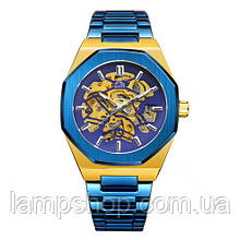 Gusto Skeleton Blue-Gold