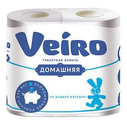 Туалетний папір Veiro Домашній, білий