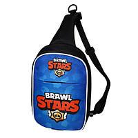 Детская сумка через плечо Brawl Stars Бравл Старс.