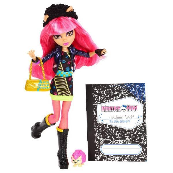 Кукла Monster High Хоулин Вульф из серии 13 Желаний