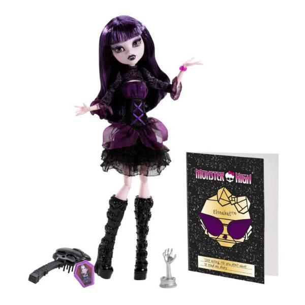 Кукла Monster High Элизабет из серии Страх, Камера, Мотор