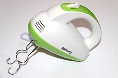 Миксер ручной Rainberg RB-1101 5 скоростей 500W White/Green