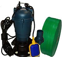 Фекальный насос с измельчителем + ШЛАНГ 1,1 кВт FORWATER Польша Сертификат (гарантия 3 года) + шланг 10м GR