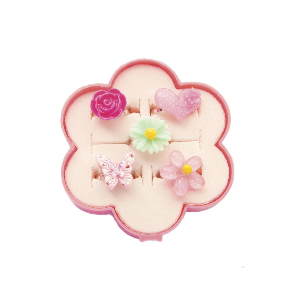 Набор Great Pretenders колечки цветочки 5 шт (84508)