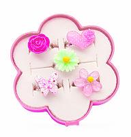 Набор Great Pretenders колечки цветочки 5 шт (84508), фото 2