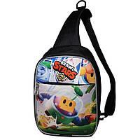 Детская сумка через плечо Brawl Stars Бравл Старс. Спраут (Sprout)