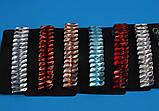 Шпилька для волосся-автомат кольорові камені, фото 3
