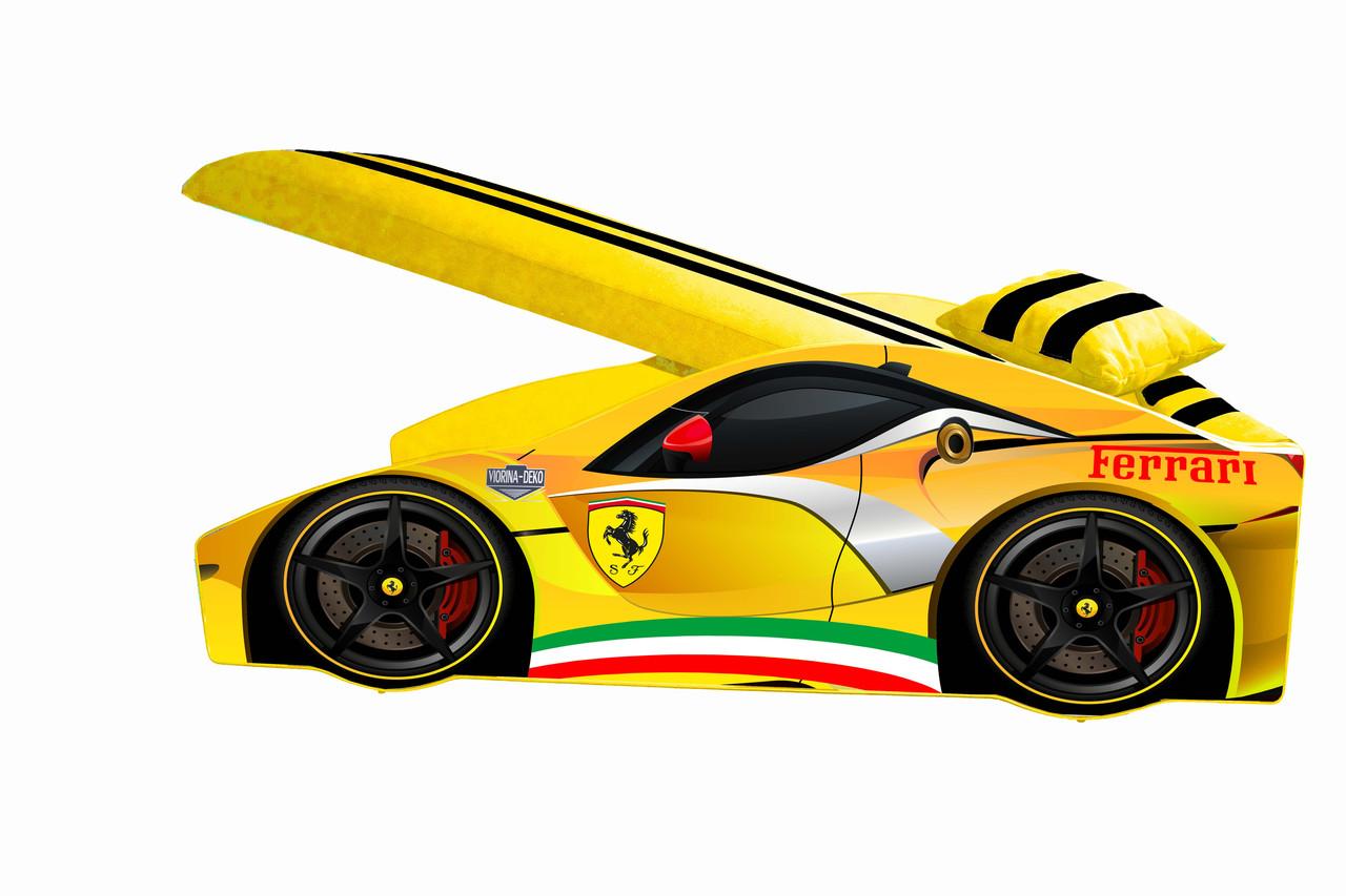 Кровать-машинка детская Элит Э-2 Ferrari