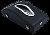 Салфетница VOLVO в автомобиль на торпеду  с ячейками под номер телефона (черная кожаная), фото 3
