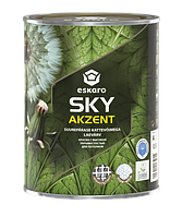 Краска для потолков Eskaro Akzent Sky 0.9 л