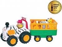 Игровой набор - Трактор сафари, Kiddieland русский язык