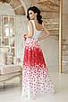 GLEM Красные лепестки платье Анисья П б/р, фото 2