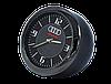 """Часы в автомобиль, темный хром """"Vihicle clock""""  с логотипом AUDI, фото 2"""