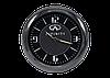 """Часы в автомобиль, темный хром """"Vihicle clock""""  с логотипом INFINITY, фото 3"""