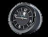"""Часы в автомобиль, темный хром """"Vihicle clock""""  с логотипом PEUGEOT, фото 2"""