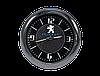 """Часы в автомобиль, темный хром """"Vihicle clock""""  с логотипом PEUGEOT, фото 3"""