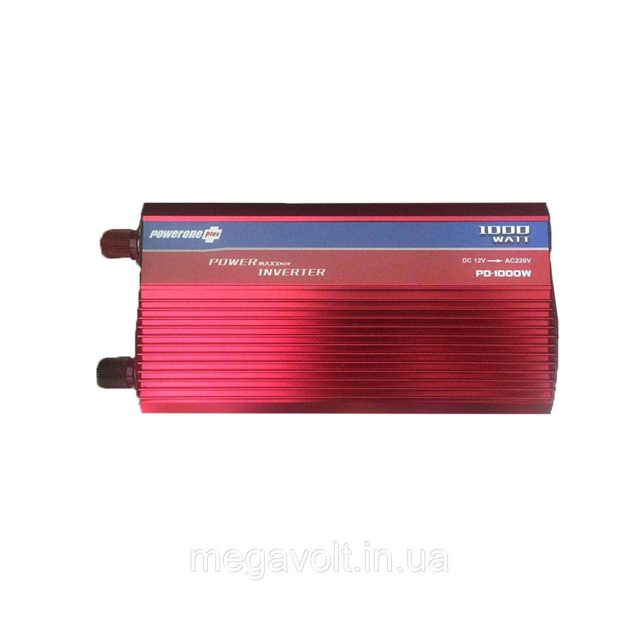 Преобразователь напряжения 12v-220v 1000W LED экран POWERONE