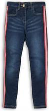 Детские джинсы для девочек на 3-4 года Minoti 98-104 см