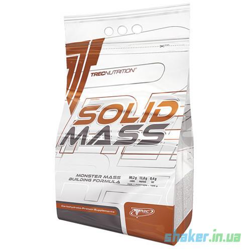Гейнер для набора массы TREC nutrition Solid Mass (5,8 кг) трек нутришн солид масс vanilla sky