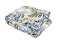 """Теплое одеяло с овечьей шерстью """"SAXON"""" полуторное 145х210 сатин_шерсть (214871-3), фото 1"""