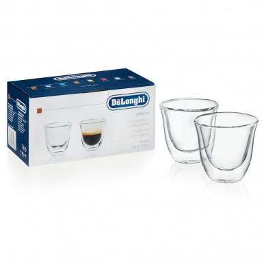 Набор стаканов  DeLonghi Espresso 60 мл (2 шт.)