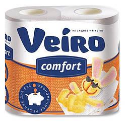 Туалетний папір Veiro Comfort, з малюнком