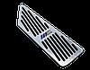 Накладки на педали BMW M-Performance X1 серии АКПП  (алюминий, без сверления), фото 3