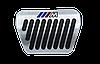 Накладки на педали BMW в стиле ///M (алюминий,  толстый газ), фото 3