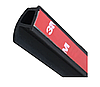 Универсальный уплотнитель для автомобильной  двери P type ( P-образная прокладка двери автомобиля 15мм х 22мм), фото 6