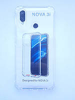 Чохол силіконовий для Huawei P Smart plus / Nova 3i прозорий