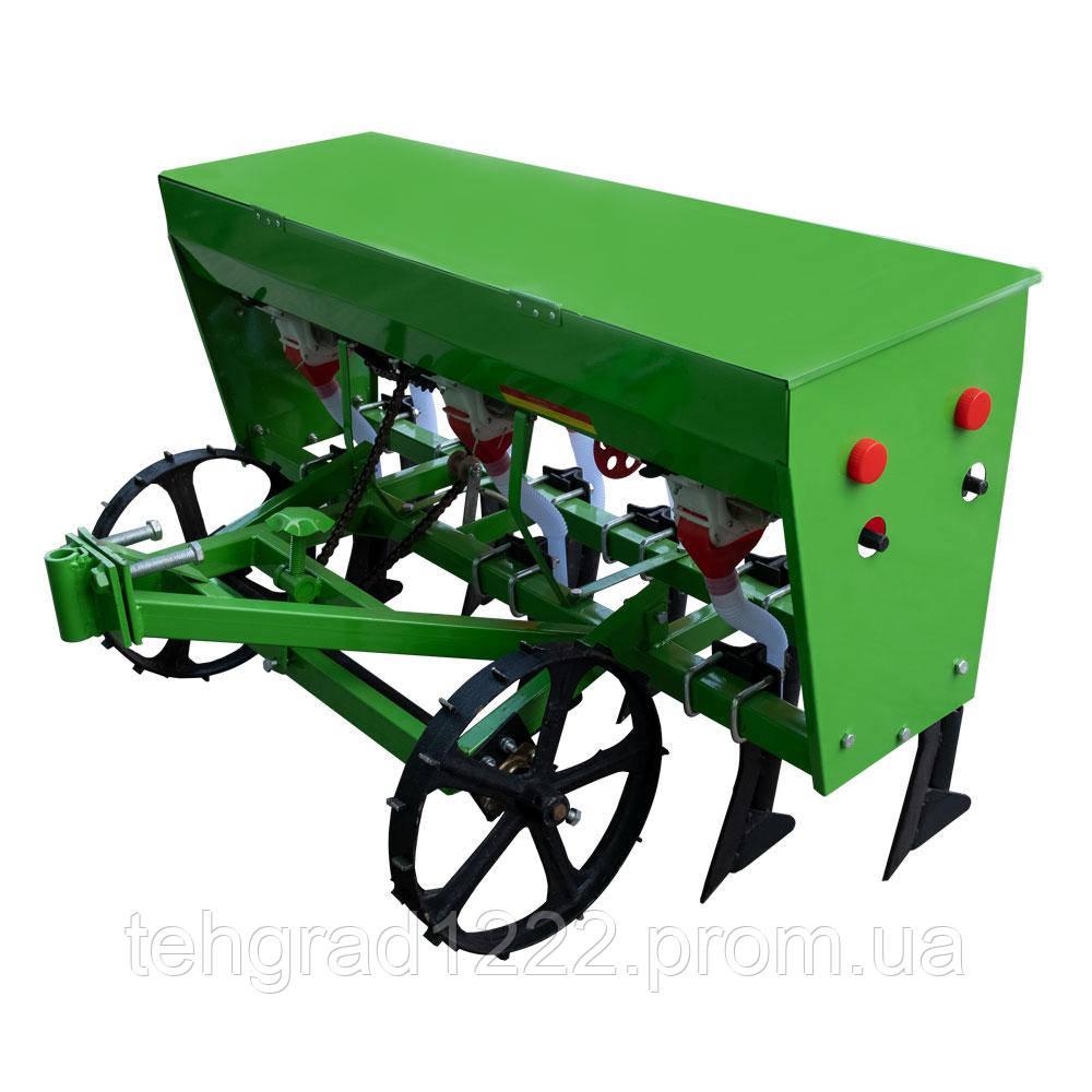 Сеялка зерновая с внесением удобрений 6 рядов СЗ-6Д (Кентавр) для мотоблоков