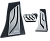 Накладки на педали BMW M-Performance X5, X6 серии  АКПП (реплика, без сверления), фото 5