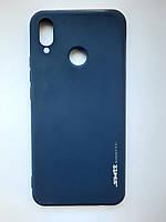 Чехол силиконовый SMTT для Huawei P Smart plus / Nova 3i темно-синий