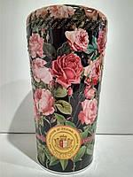 Подарочный чай Челтон Chelton, в жестяной банке Ваза с Розами 100г