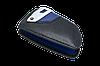 Оригинальный кожаный чехол футляр для  ключа BMW со стальным зажимом, цвет Blue, фото 3