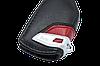 Оригинальный кожаный чехол футляр для  ключа BMW со стальным зажимом, цвет Red, фото 4